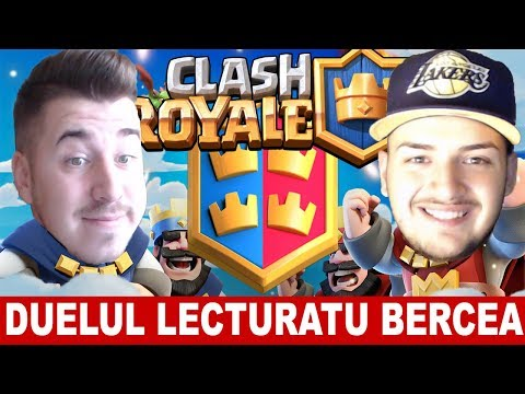 ANDY VS BERCEA PE CLASH ROYALE!
