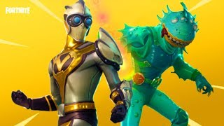 FORTNITE: Battle Royale'S **NEW LEGENDARY SKINS**