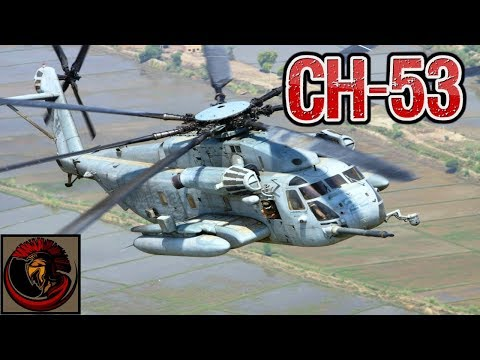 CH-53 Heavylift Transport Helicopter - AMERICAN MUSCLE!