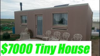 $7000 Off-grid Tiny House On A Sand Foundation In The Desert