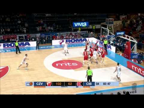 ABA Liga 2017/18 highlights, Round 22: Crvena zvezda mts - Cibona (12.3.2018)
