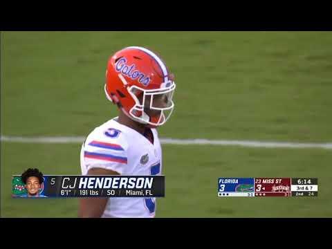 Florida football: CJ Henderson gets All-America recognition he deserves