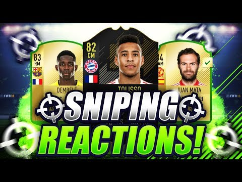 FIFA 18 | MY BEST SNIPE ON FIFA 18 🔥 CRAZY OTW SNIPE FOR 25K PROFIT 😱 SNIPING REACTIONS EP3 🐧