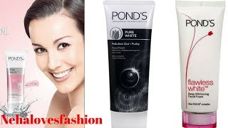POND'S FACEWASH REVIEW || Ponds Daily Spotless, Ponds Flawless White, Ponds Activated Carbon||