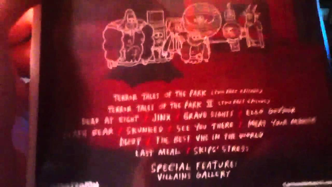 Regular show fright pack dvd review - YouTube