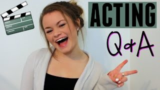 Acting Q&A! Agencies, Forgetting Lines, Credits, and More!