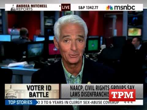 Charlie Crist: Voter ID 'Just Plain Wrong'
