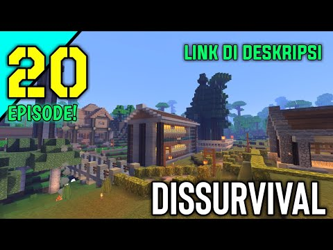 DOWNLOAD MAP SURVIVAL MINECRAFT PE SPECIAL EPS 20!-MCPE INDONESIA#20