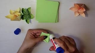 Мастер-класс. Цветы из бумаги. Красиво и легко!