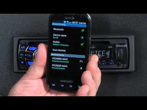 FAQ- DEH-7300BT- Bluetooth Pairing