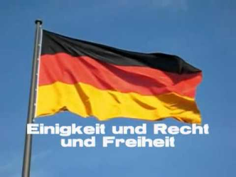 Deutsche Nationalhymne - National Anthem of Germany [lyrics