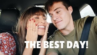 THE TWO HAPPIEST SURPRISES!! | VLOG