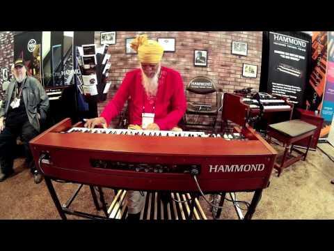 Hammond XK5 - Dr. Lonnie Smith - 2016 Summer NAMM / Nashville