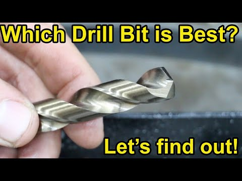 Which Drill Bit Brand is Best? Let's find out!