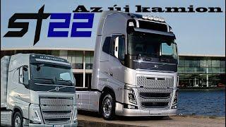 Megérkezett az új kamion - Volvo FH500 ST22