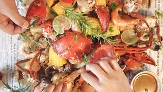 Party Perfect! Super Easy Seafood Boil in One Pot Recipe  How to Make Cajun Crab &amp Shrimp in a Bag