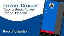 4 1 - Drawer navigation with header | React Navigation v 3 x | react
