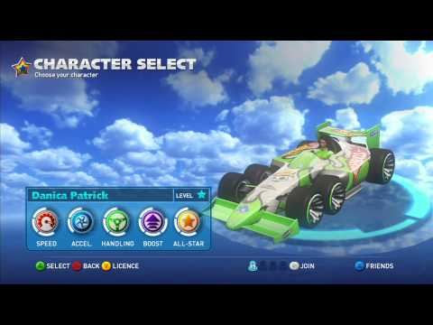 Sonic & All Stars Racing Transformed: All Character Mods [1080 HD]