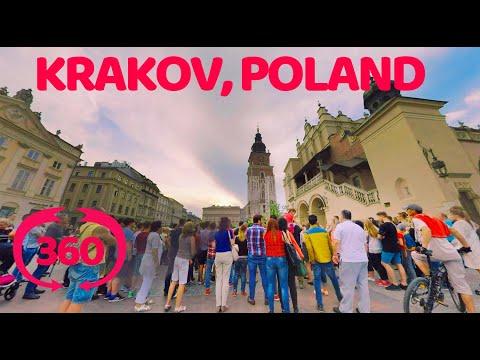 VR 360 video Poland Krakow.