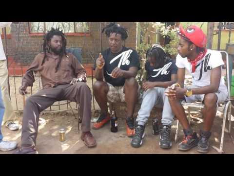 "Jah Hanief ""UK"" Meets Hamek , Mad Minox & Makidho @ The PGHQ Mbare, Harare, Zimbabwe May 2017"