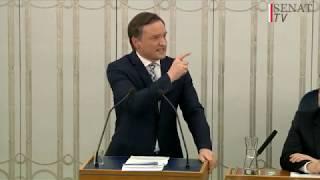 Problem sądownictwa leży w rozbuchanej korporacji - Zbigniew Ziobro w Senacie