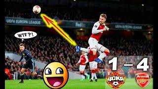 Arsenal vs cska moscow 4-1 all goals & extended highlights 5.4.2018 1080 hd