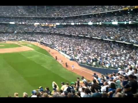 Brewers win game 5 nlds 2011