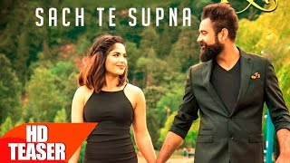 Teaser Sach Te Supna Amrit Maan Releasing on 4th September Speed Records