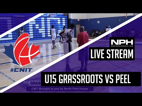 CNIT - U15 Grassroots Elite VS Peel Elite - LIVE STREAM