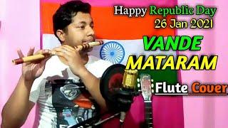 Vande Mataram   Flute Instrumental Cover  Republic Day Special🇮🇳   By Harish Mahapatra