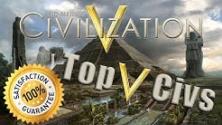 Top 5 Civilizations to Use in Sid Meier's Civilization V