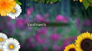 Aathangara Marame   Kizhakku Cheemayile   Song Cover   By Vaishnavi