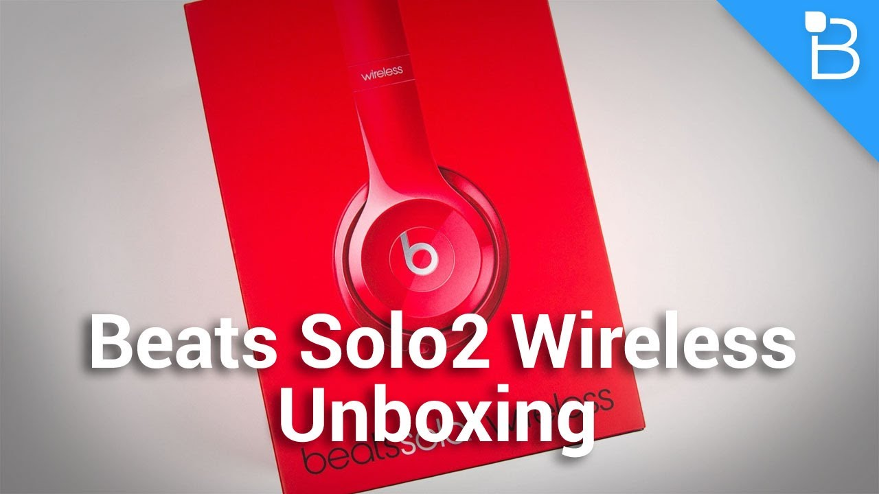 e9f5391973e Beats Solo2 Wireless Unboxing - YouTube