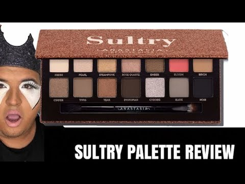 ANASTASIA BEVERLY HILLS SULTRY PALETTE REVIEW