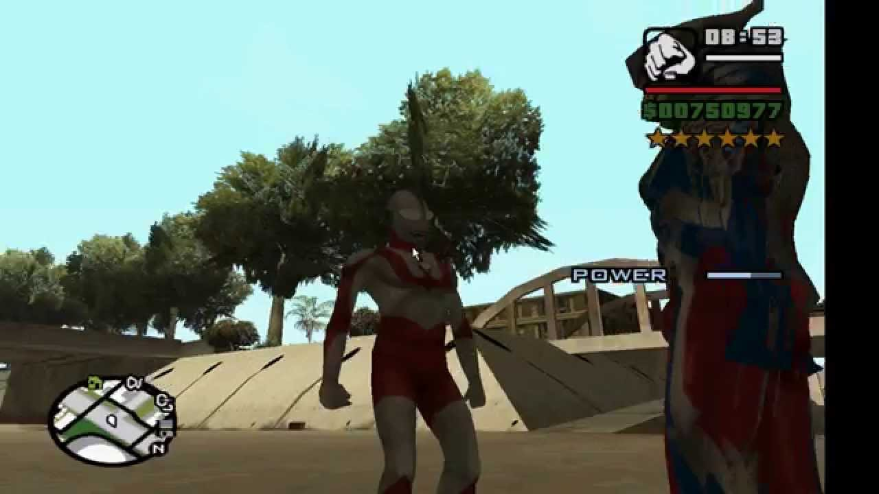 Gta Sa Ultraman Mod Released Must See Ultraman Belial Added To The Description Youtube