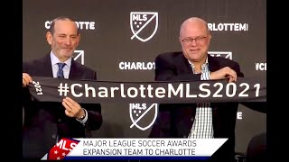 Charlotte Clinches Newest MLS Expansion Team!