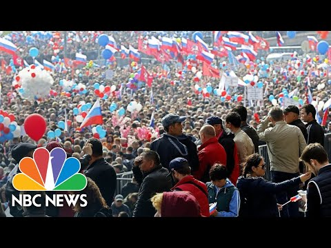 Thousands Join May Day Marches Around The World | NBC News