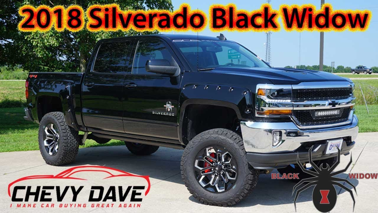 2018 Chevy Silverado Black Widow Edition Review And It S For Sale