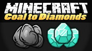 COAL TO DIAMONDS | Minecraft Mods Showcase