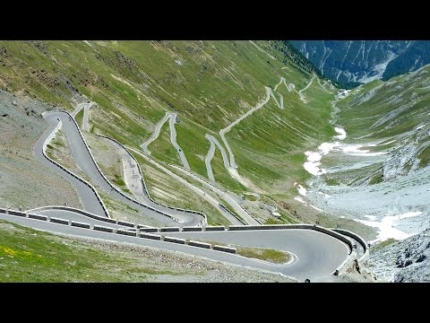 Passo dello Stelvio (from Prato ) - Road bike POV
