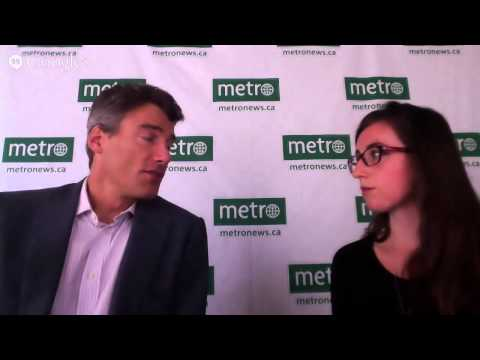 Metro chats with Vancouver Mayor Gregor Robertson