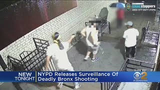 NYPD Releases Video Of Deadly Bronx Shooting