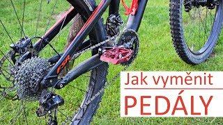 Jak sundat a vyměnit pedály na kole