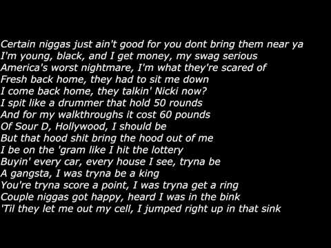 Meek Mill - Ice Cream Freestyle 2015 (Official Screen Lyrics)