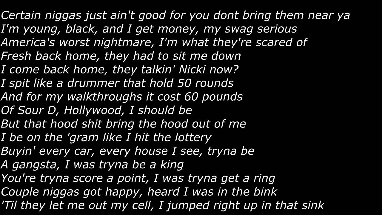 Lyrics for ice cream paint job lil wayne