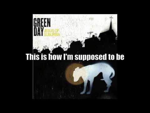 Green Day - Jesus Of Suburbia [CLEAN LYRICS]