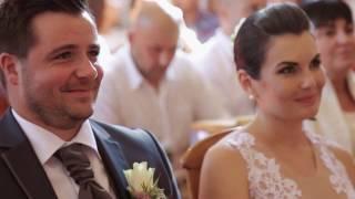 Tamcsi és Laci esküvői videó