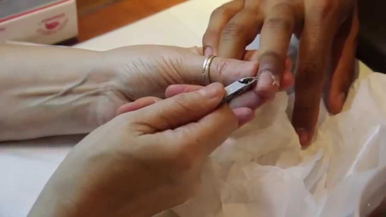 Manicure for Men in New York  Nail Salon in Manhattan NY  YouTube