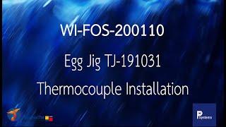 [WI-FOS-200110] Egg Jig Thermocouple Installation l การติดตั้งชุดจับยึดโพรบสำหรับทอดไข่ดาว TJ191031