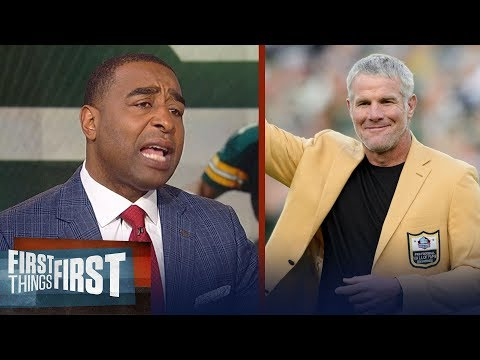 Cris Carter on Brett Favre's battle with alcohol and pain pills  NFL  FIRST THINGS FIRST